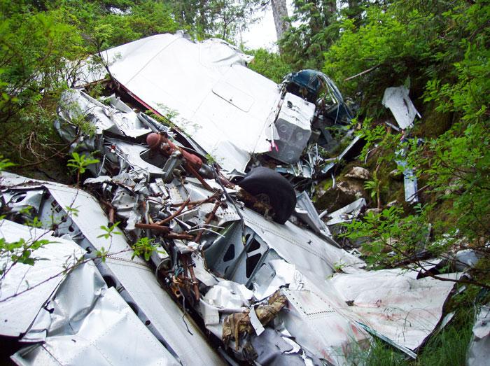 gillam crash site survey introduction